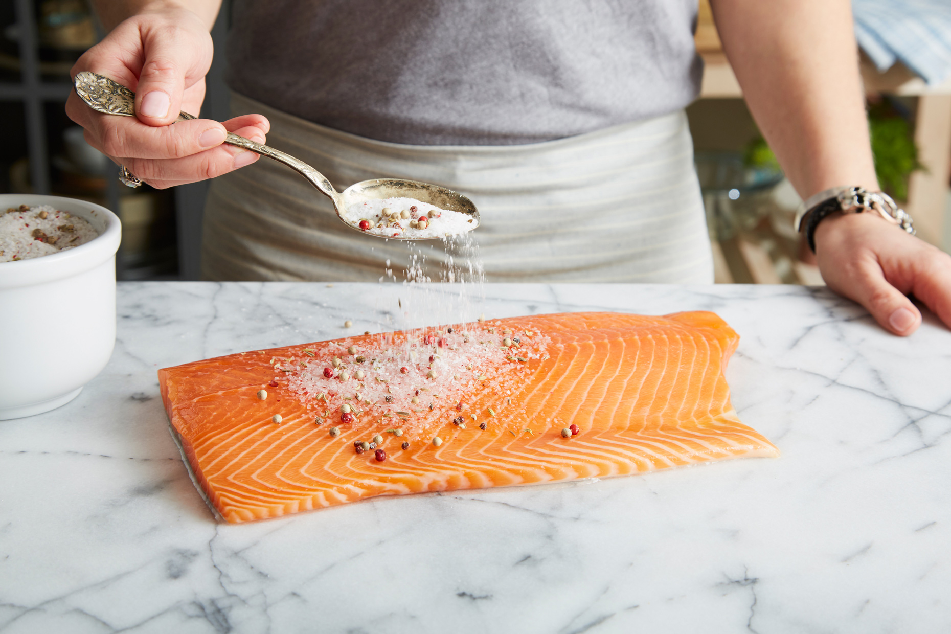 Cured Gravlax, Salmon, cured food. photo by Chris Kessler Photography.  Chris Kessler is a freelance Photographer based in Milwaukee Wisconsin. Specializing in Food photography and portraiture.