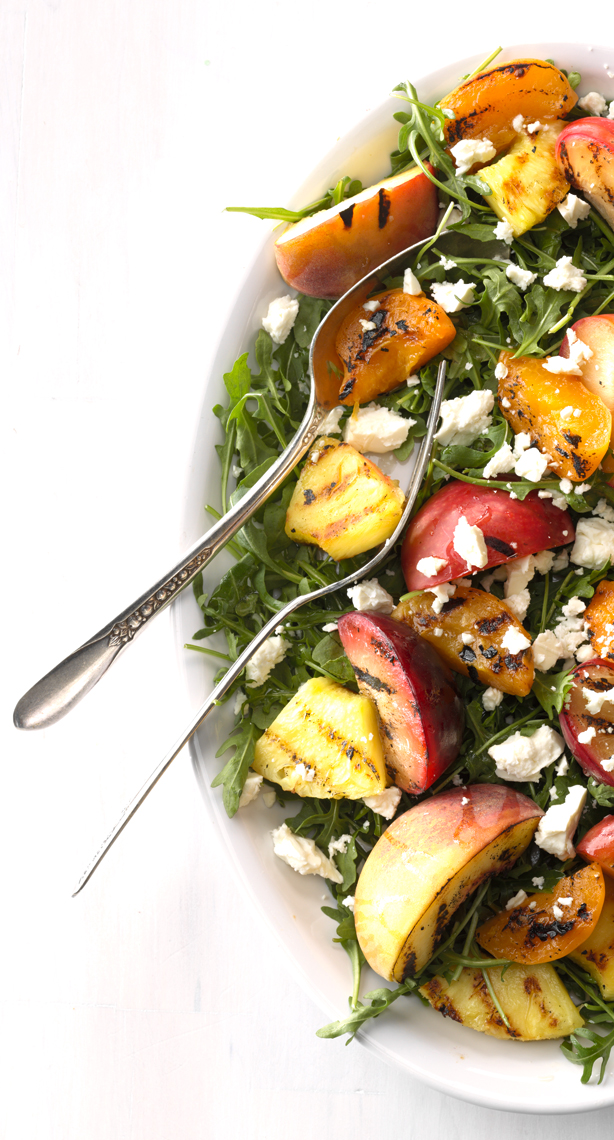 Grilled Stone Fruit Salad.  Peaches, plums, apricots and Pineapple photo by Chris Kessler Photography.  Chris Kessler is a freelance Photographer based in Milwaukee Wisconsin. Specializing in Food photography and portraiture.