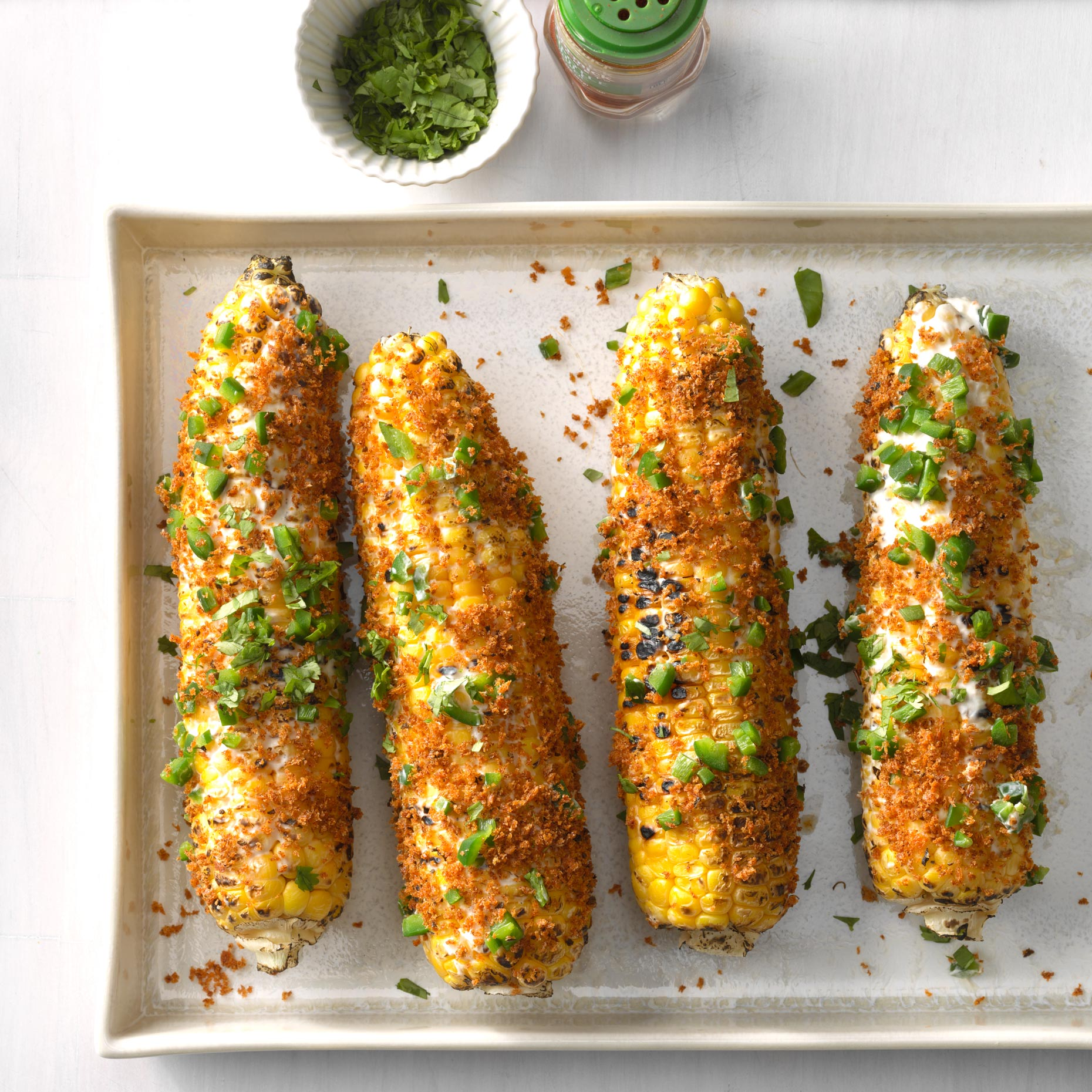 Jalapeno Popper Mexican Street Corn photo by Chris Kessler Photography.  Chris Kessler is a freelance Photographer based in Milwaukee Wisconsin. Specializing in Food photography and portraiturea