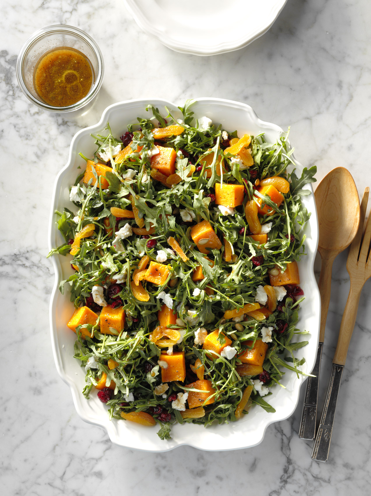 Roasted Pumpkin Salad with Orange Dressing photo by Chris Kessler Photography.  Chris Kessler is a freelance Photographer based in Milwaukee Wisconsin. Specializing in Food photography and portraiture.